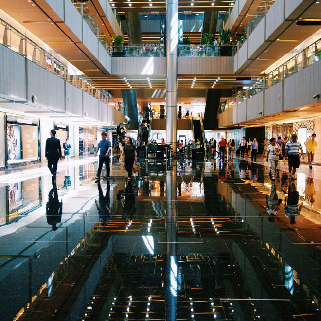 Paragon Shopping Center in Singapore