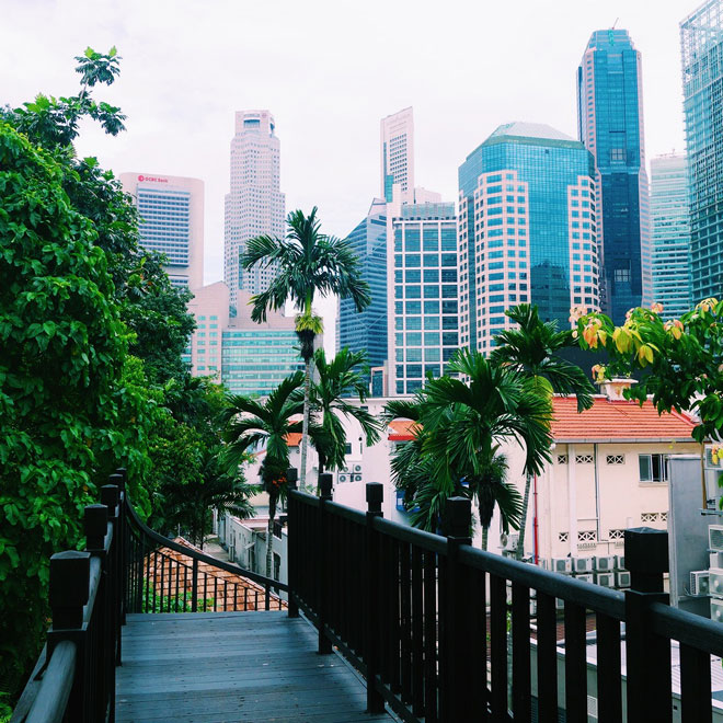 Ann Siang Hill Park in Singapore